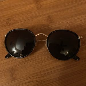Urban Outfitters Round Metal Frame Sunglasses